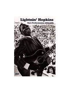 Lightnin' Hopkins: Rare Performances 1960-1979 DVD DVDs / Videos | Guitar