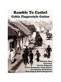 Ramble To Cashel: Celtic Fingerstyle Guitar DVD DVDs / Videos | Guitar