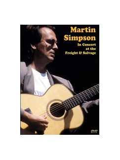 Martin Simpson In Concert (DVD) DVDs / Videos | Guitar