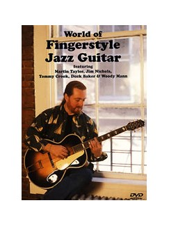 World Fingerstyle Jazz Guitar DVDs / Videos | Guitar