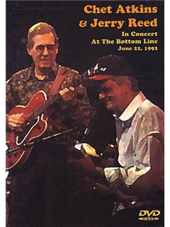 Chet Atkins And Jerry Reed In Concert at The Bottom Line, June 22nd, 1992 DVD DVDs / Videos | Guitarra