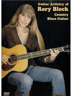Guitar Artistry Of Rory Block: Country Blues Guitar DVDs / Videos | Guitar