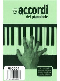 Gli Accordi Del Pianoforte Books | Piano