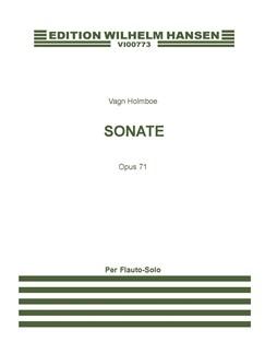 Holmboe  Sonata Op. 71 (1957)  Flt Solo  | Flute