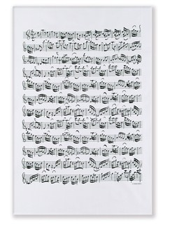 Vienna World: Tea Towel - Sheet Music  |