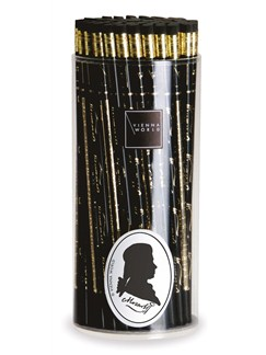 Vienna World: Pencil Box - Mozart: Black (Box Of 72)  |