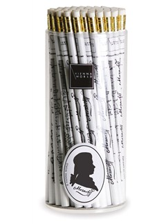 Vienna World: Pencil Box - Mozart: White (Box Of 72)  |