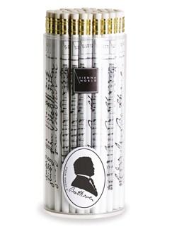 Vienna World: Pencil Box - Beethoven: White (Box Of 72)  |