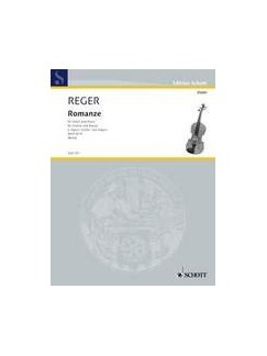 Max Reger: Romanze G-Dur Books | Violin, Piano