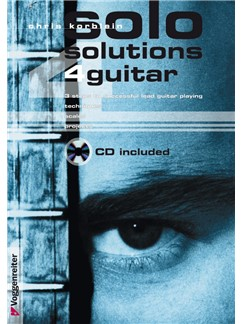 Chris Korblein: Solo Solutions 4 Guitar (Book/CD) Books and CDs | Electric Guitar
