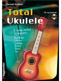 Gernot Rödder: Ukulele Total (Book/CD) Books and CDs | Ukulele