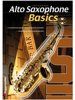 Chris Stieve-Dawe: Alto Saxophone Basics (Book/CD) Books and CDs | Alto Saxophone