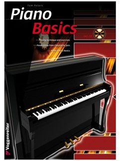 Tom Peters: Piano Basics (Book/CD) Books and CDs | Piano