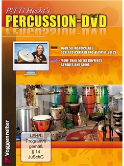 Pitti Hecht's Percussion DVDs / Videos | Percussion