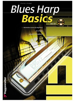 Dieter Kropp: Blues Harp Basics (Book/CD) Books and CDs | Harmonica