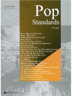Pop Standards Collection Books | Piano, Vocal & Guitar