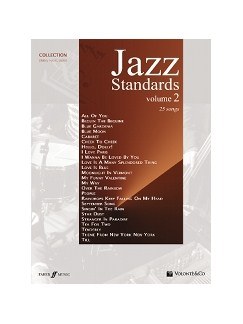Jazz Standards Vol.2 Books | Piano, Vocal & Guitar