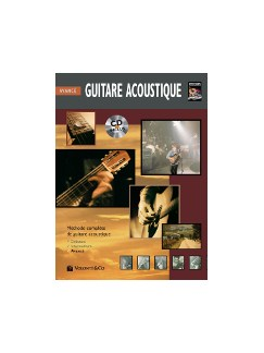 Guitare Acoustique Avance + CD (French Edition) Books and CDs | Guitar