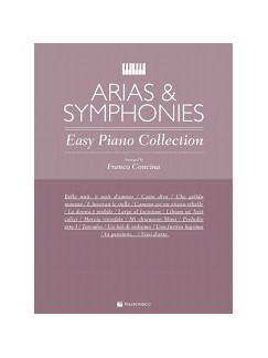 Arias & Symphonies - Easy Piano Collection Books | Piano