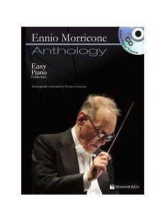 Ennio Morricone - Easy Piano Collection + CD Books and CDs | Piano