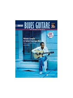 Acoustique Blues Guitare + CD  (French Edition) Books and CDs | Guitar
