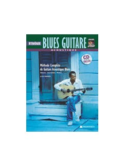 Acoustique Blues Guitare Intermediaire+ CD (French Edition) Books and CDs | Guitar