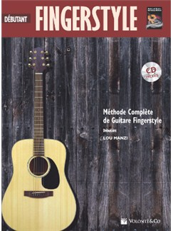 Fingerstyle Debutant + CD (French Edition) Books and CDs | Guitar
