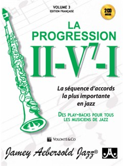 Vol.3 / II - V7 - I : La Progressione + 2CD (French Edition) Books and CDs | All Instruments