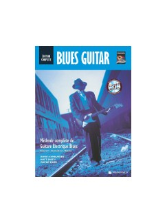 Blues Guitare Edition Complete + CDMP3 (French Edition) Books and CDs | Guitar