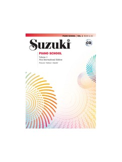 Suzuki Piano School - Vol.1 + CD (French/Spanish Edition) Books and CDs | Piano