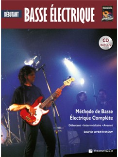Basse Electrique Debutant + CD (French/Spanish Edition) Books and CDs | Bass Guitar