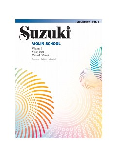 Suzuki Violin School 3 (French/Spanish Edition) Books | Violin