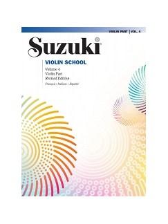 Suzuki Violin School 4 (French/Spanish Edition) Books | Violin
