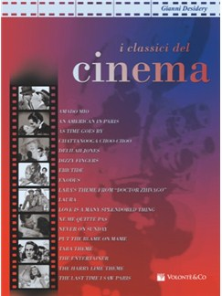 Classici Del Cinema V.1 Books | Piano