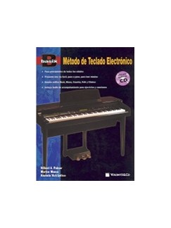 Basix Método Teclado Electronico + CD (Spanish Edition) Books and CDs | Keyboard