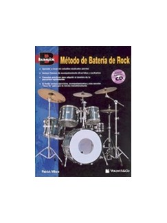 Basix Método Batéria De Rock + CD (Spanish Edition) Books and CDs | Percussion