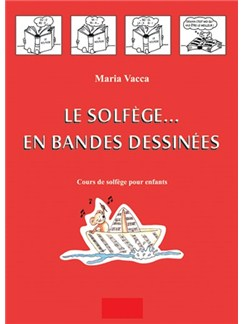 Solfege En Bandes Dessinees (French Edition) Books | Piano