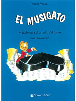 El Musigato Prepartorio (Spanish Edition) Books | Piano