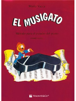 Musigato Nivel 1 (Spanish Edition) Books | Piano
