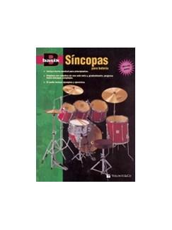 Basix Síncopas Para Batería + CD (Spanish Edition) Books and CDs   Percussion