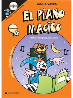 Maria Vacca: El Piano Magico (Book/CD) (Spanish) Books and CDs | Piano