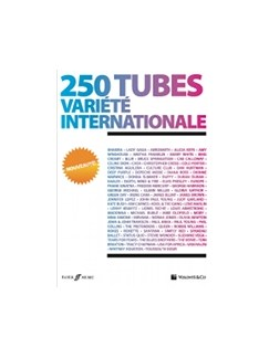 250 Tubes Variété Internationale Books | Piano