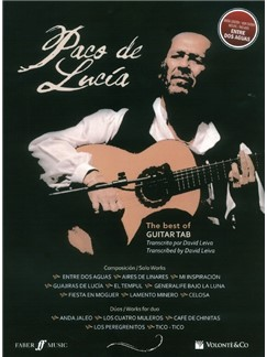 Paco De Lucia: Best Of Guitar Tab Books | Guitar Tab