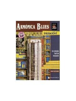 Armonica blues + CD (Spanish Edition) Books and CDs | Harmonica
