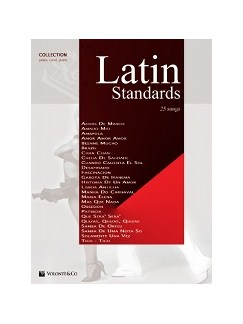 Latin Standards Collection Books | Piano, Vocal & Guitar