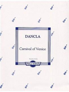 Charles Dancla: Carnival In Venice Books   Viola, Piano