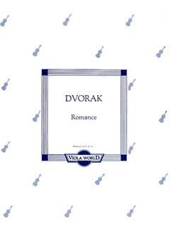 Antonin Dvorak: Romance Op.11 (Viola) Books | Viola, Piano Accompaniment