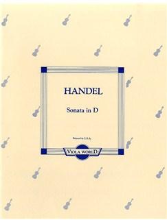 Handel, Gf Sonata In D Vla/pf Books | Viola