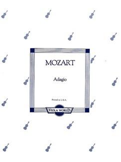 W.A. Mozart: Adagio K.261 (Viola/Piano) Books | Viola, Piano