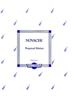 Ottokar Novacek: Perpetual Motion (Viola) Books   Viola, Piano Accompaniment